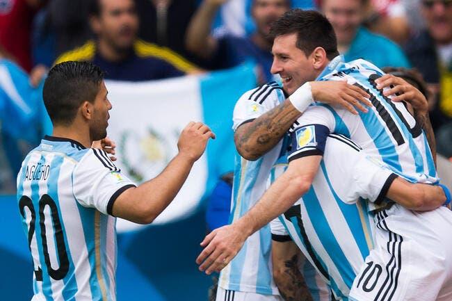 Messi monte en puissance, l'Argentine aussi