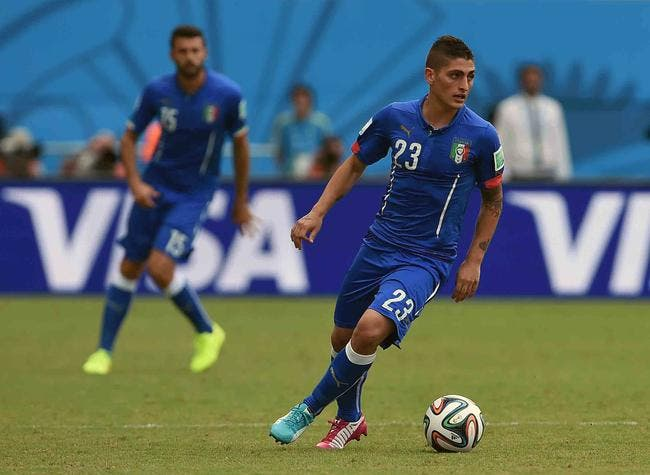Un international italien du PSG effondré