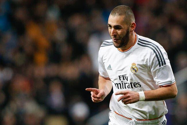 Benzema trop gourmand pour le Real Madrid, pas pour le PSG