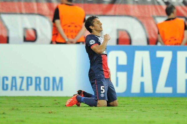 Le PSG n'est pas débarrassé du Barça pour Marquinhos