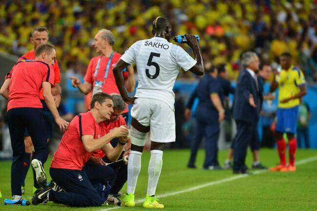 Blessé ou pas, Sakho veut à tout prix jouer contre le Nigeria
