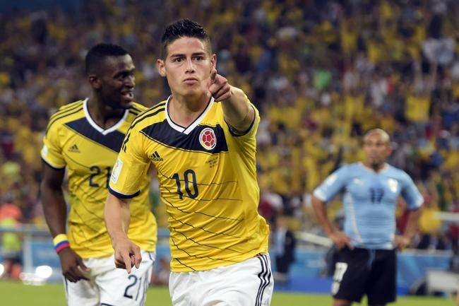 James Rodriguez guide la Colombie jusqu'aux quarts