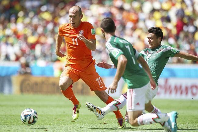Le Mexique y a cru, mais le feu était Oranje