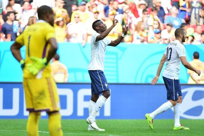Les notes de France-Nigéria : La réponse de Pogba