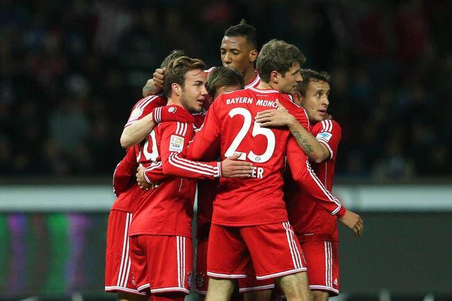 Le Bayern Munich déjà champion d'Allemagne