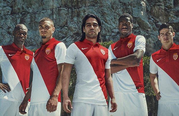 Monaco choisit Nike et dévoile son nouveau maillot