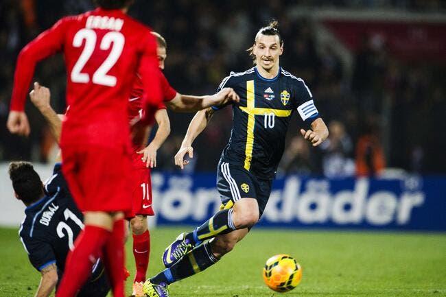 Ibrahimovic craint pour l'avenir de la Suède