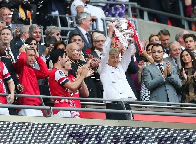Wenger prolonge jusqu'en 2017 avec Arsenal