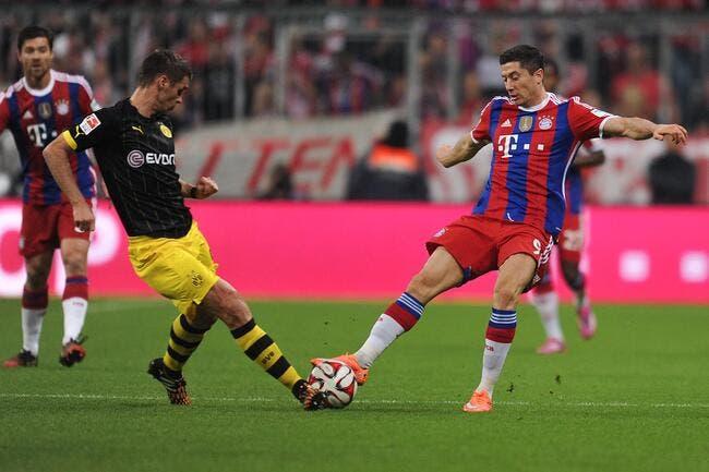 Bayern Munich - Dortmund : 2-1
