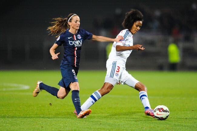Les filles de l'OL dominent le PSG
