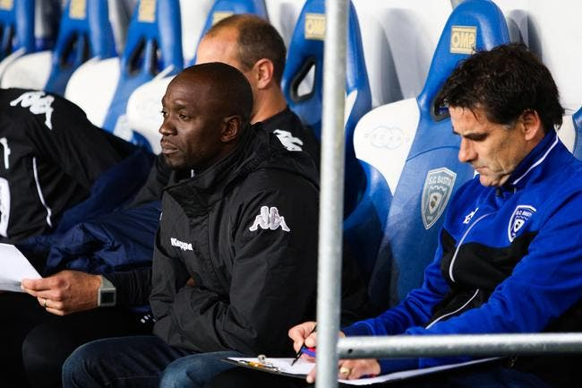 Makelele «pour l'instant» coach de Bastia