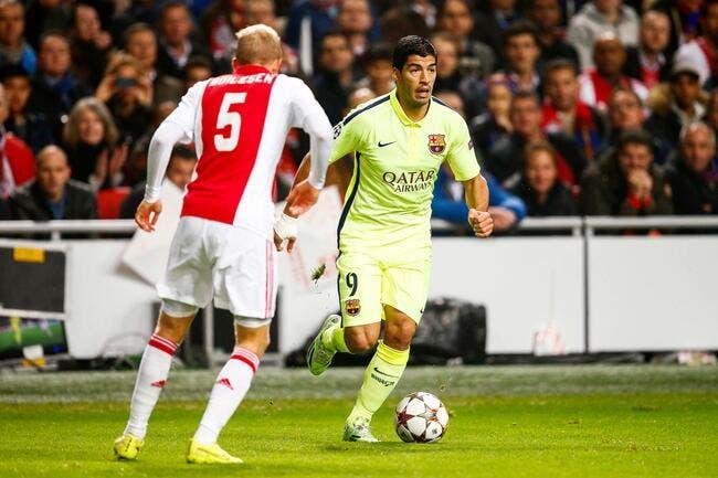Ajax - FC Barcelone : 0-2