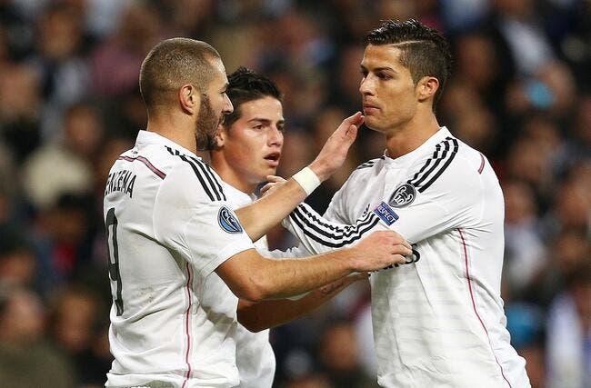 Benzema fait mieux que Cristiano Ronaldo en C1 !