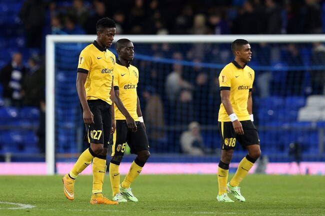 Lille se prend 3-0 et oublie l'Europa League