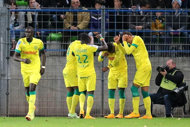 Nantes tient le bon wagon, Evian et Bastia respirent