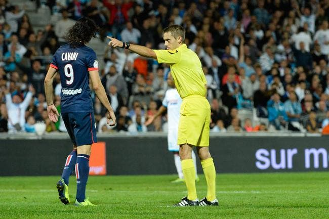 Clément Turpin devra éviter d'être la star de PSG-OM