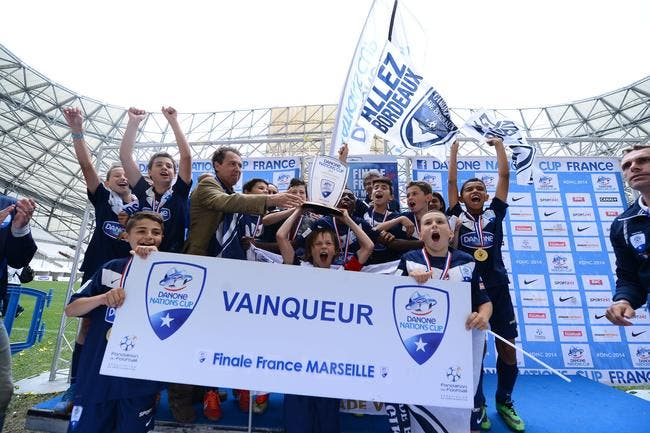 Les Girondins au Brésil, pour la Danone Nations Cup