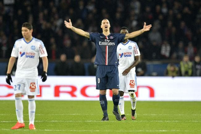 Ibrahimovic avoue qu'il n'était pas à 100% pour PSG-OM