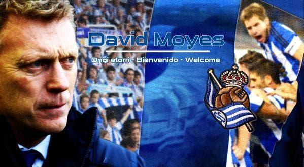 David Moyes nouvel entraîneur de la Real Sociedad