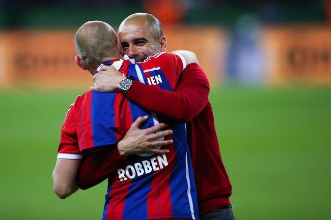 Robben confirme, Guardiola est complètement fou