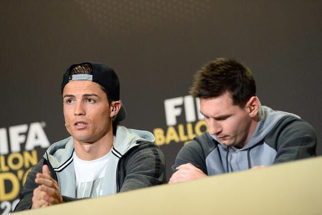Cristiano Ronaldo dément des insultes sur Messi