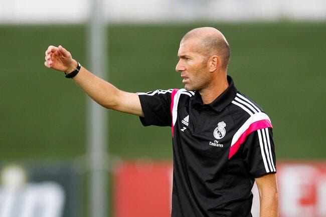 L'équipe réserve du Real Madrid joue comme Zidane
