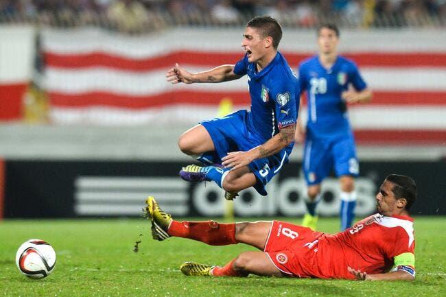 Verratti forfait avec l'Italie va se soigner au PSG