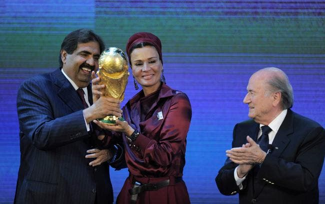 La FIFA, Blatter, Qatar 2022, Cantona vide son sac