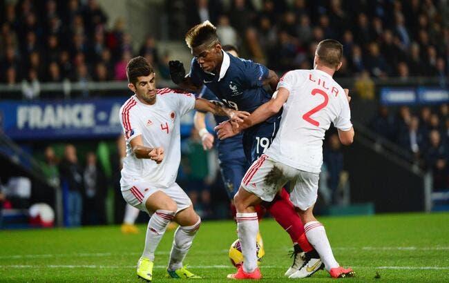 La France tombe sur un os avec l'Albanie