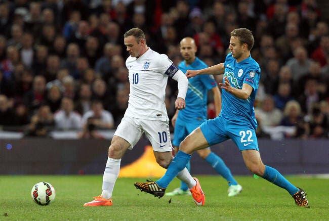 Angleterre - Slovénie : 3-1