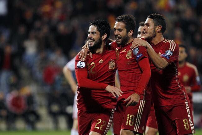 Espagne - Biélorussie : 3-0