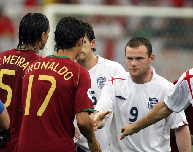 Le sale coup de Cristiano Ronaldo en 2006, Rooney a pardonné