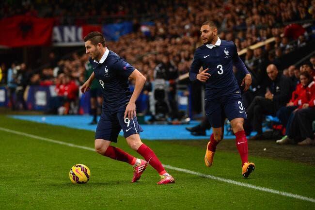 Gignac se met la pression avant France-Suède