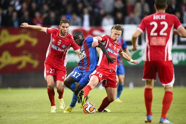 Aucun pari truqué sur le match Caen-Nîmes