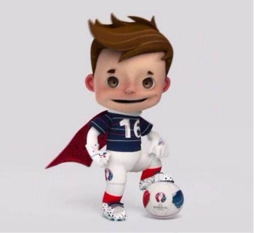 La mascotte de l'Euro 2016 dévoilée
