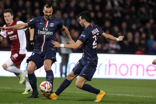 Le PSG passe la première à Metz !
