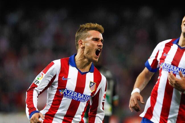 Atletico Madrid - Malaga : 3-1