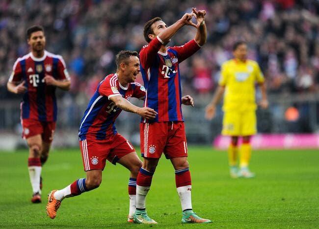 Bayern Munich - Hoffenheim : 4-0