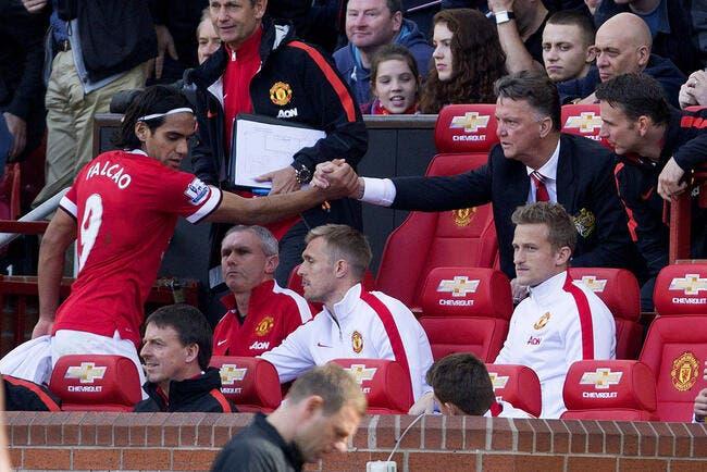 Falcao commence vraiment à agacer Man United