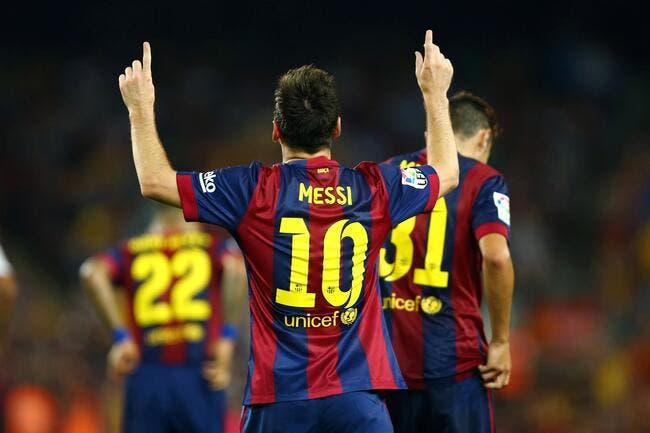 FC Barcelone - FC Séville : 5-1