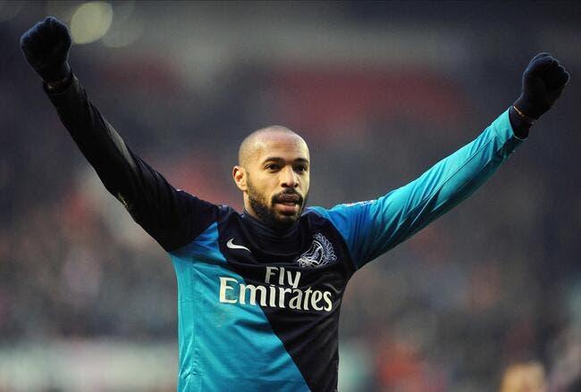 Nouveau retour de Thierry Henry à Arsenal ?