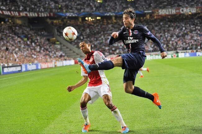 Le PSG veut se venger du petit affront de l'Ajax