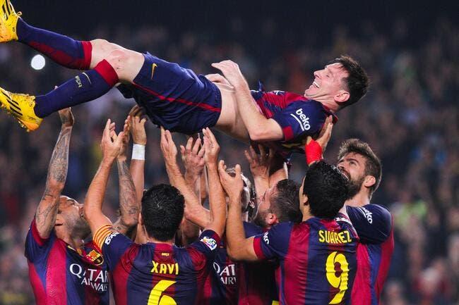 Lionel Messi dit 253 fois «merci»