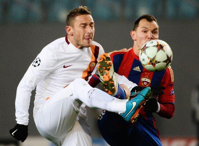 CSKA Moscou – AS Roma 1-1