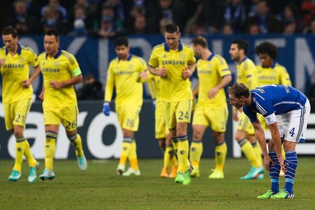 Schalke 04 – Chelsea 0-5