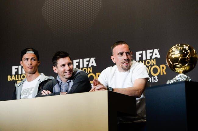 Cristiano Ronaldo Ballon d'Or ? Ribéry règle ses comptes