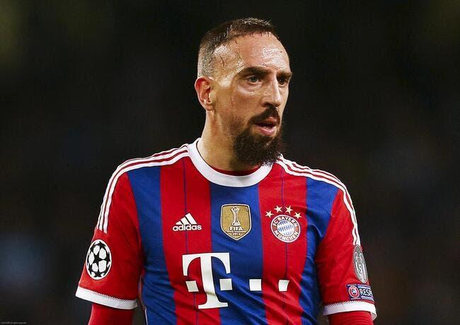La baston entre Ribéry et Kompany est presque passée inaperçue...