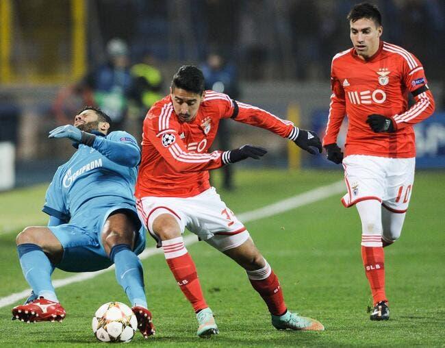 Zénith St-Petersbourg - Benfica : 1-0