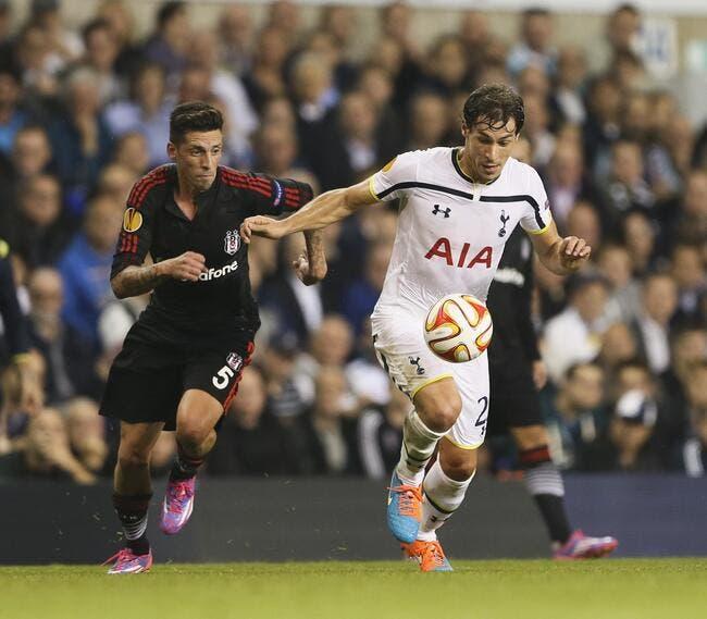 Vidéo : Stambouli marque son premier but pour Tottenham