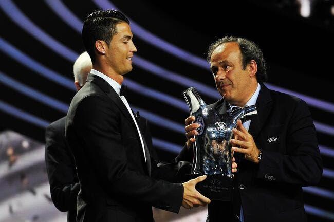 Le Real calme Platini et donne le Ballon d'Or à Cristiano Ronaldo